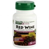Vin rouge 500 mg Nature's Plus, 60 gélules
