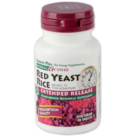 Arroz Levadura Roja (Red Yeast R) Nature's Plus, 30 comprimidos