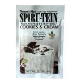 Spiru-Tein Sobre Cookies& Cream Nature's Plus, 35 g