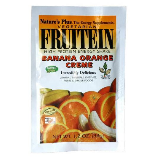 Fruitein Sobre Platano&Naranja Nature's Plus, 34 g