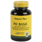PH Basic Nature's Plus, 60 cápsulas