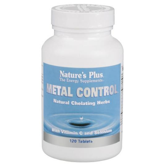 Metal Control Nature's Plus, 120 comprimidos