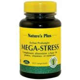 Mega-Stress Nature's Plus, 30 comprimés