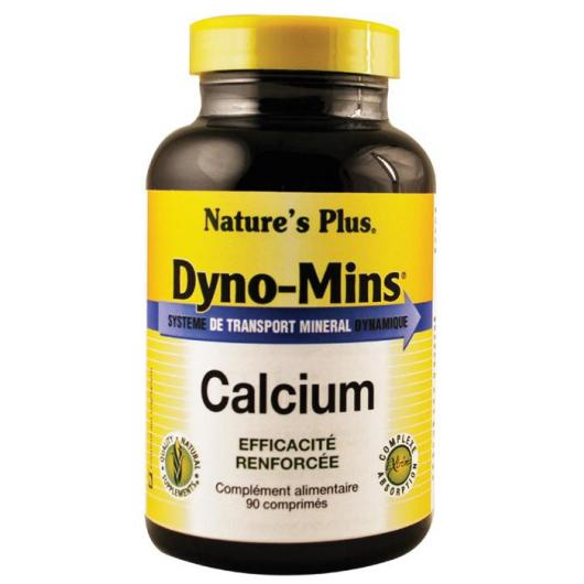 Dyno-Mins Calcio Nature's Plus, 90 comprimidos