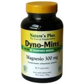 Dyno-Mins Magnesio 300 mg Nature's Plus, 90 comprimidos
