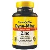 Dyno-Mins Zinc 15 mg Nature's Plus, 60 comprimés