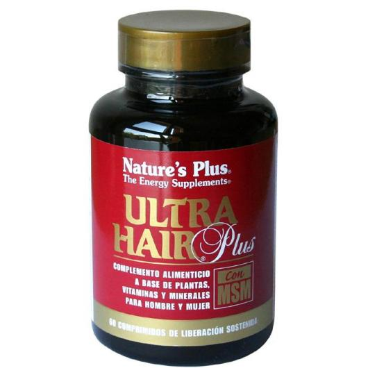 Ultra Hair Plus con MSM Nature's Plus, 60 compresse