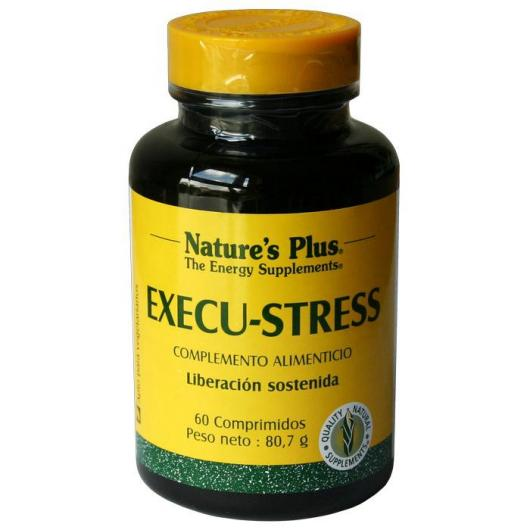 Execu-Stress Nature's Plus, 60 comprimés