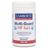 Multi-Guard® for Kids Lamberts, 100 compresse masticabili