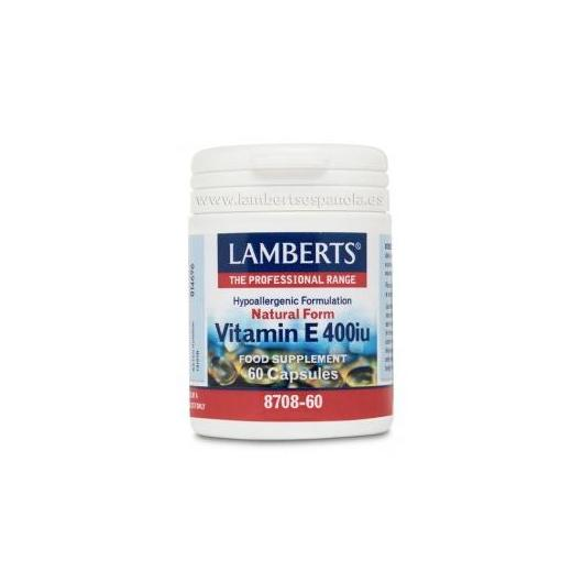 Vitamina E Natural 400 UI Lamberts