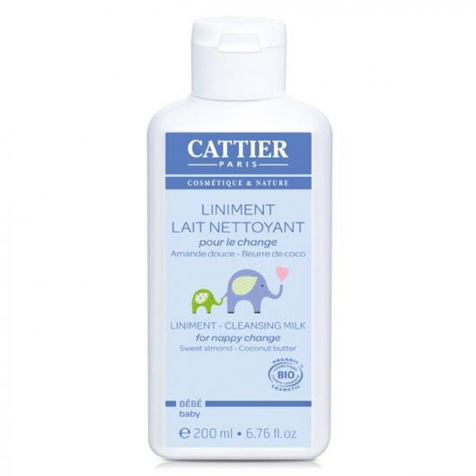 Latte Detergente Pannolino Cattier, 200 ml.