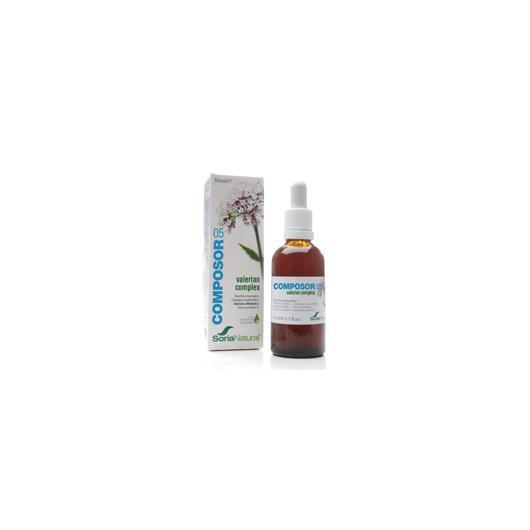 Composor 5 Valeriana Complex XXI Soria Natural, 50 ml