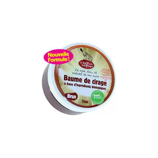 Crema cuoio marrone 75 ml