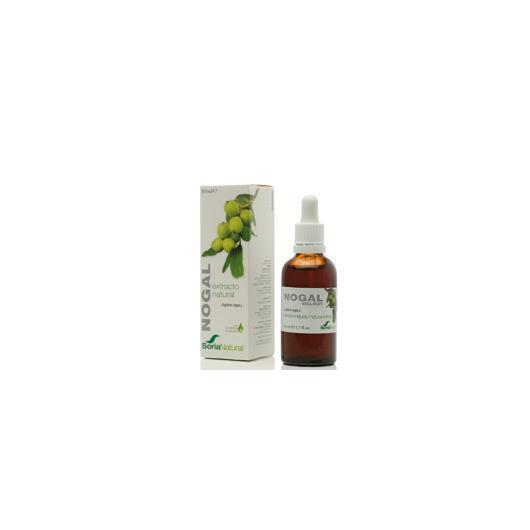Estratto di Nogal Soria Natural, 50 ml