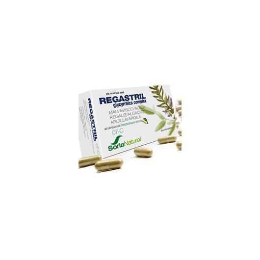 7-C Regastril Soria Natural, 60 gélules