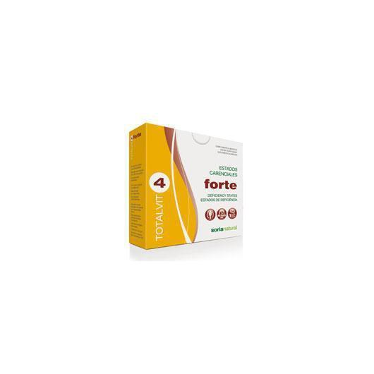 Totalvit 4 Forte Soria Natural, 28 compresse