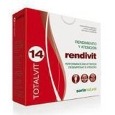 Totalvit 14 Rendivit Soria Natural, 28 comprimidos