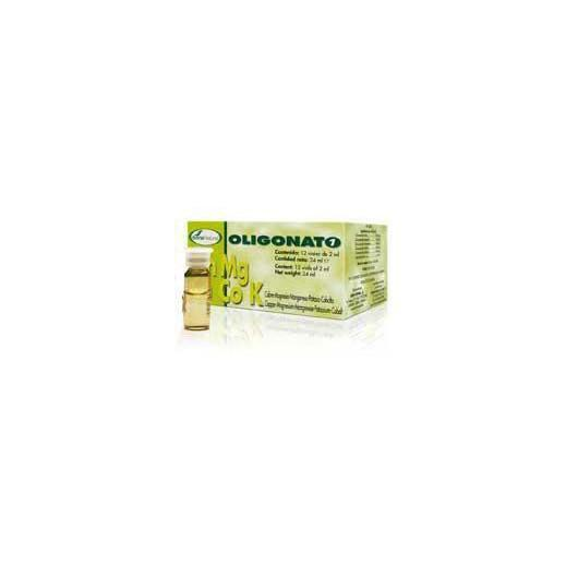 Oligonato 1 Cu-Mg-Mn-K-Co Soria Natural, 12 fiale