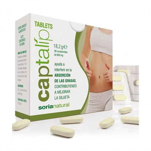 Captalip Soria Natural, 28 compresse
