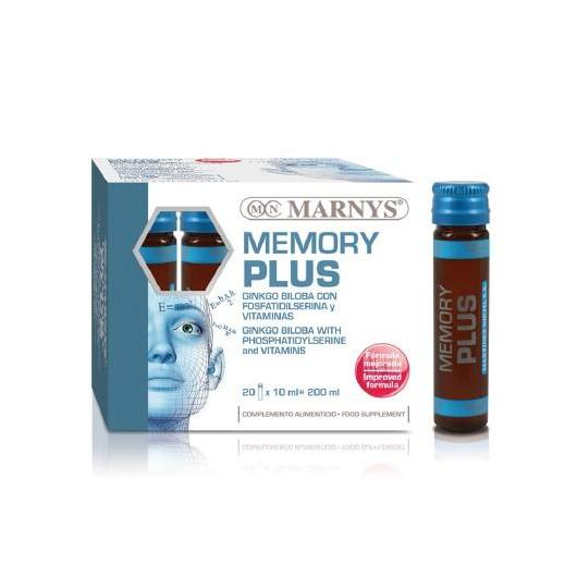 Memory Plus Fiale Marnys, 20 fiale X 10 ml