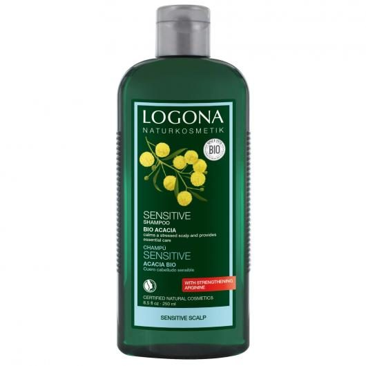 Shampooing Sensitive à l'acacia Logona, 250 ml