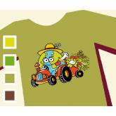 Camiseta TRACTOR - Mujer