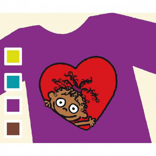 T-shirt CORAZÓN DE CHOCOLATE - Donna