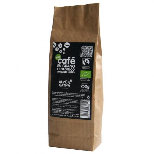 Grãos de café Biológicas alternativos, 250g