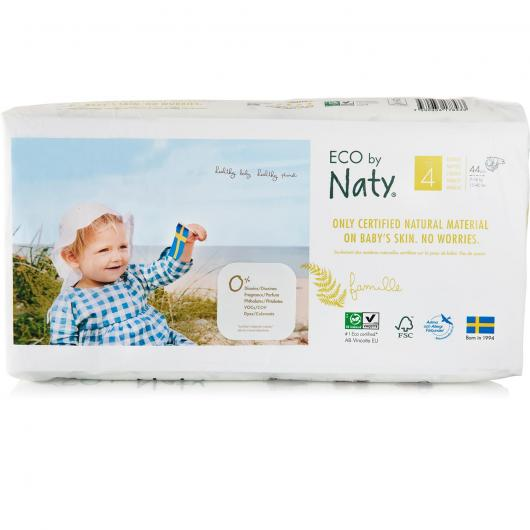 Couches n°4 Naty 7-18 kg, 46 pièces