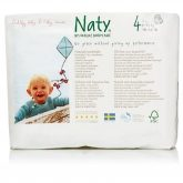 Couches-culottes n°4 Naty 8-15 kg, 22 pièces