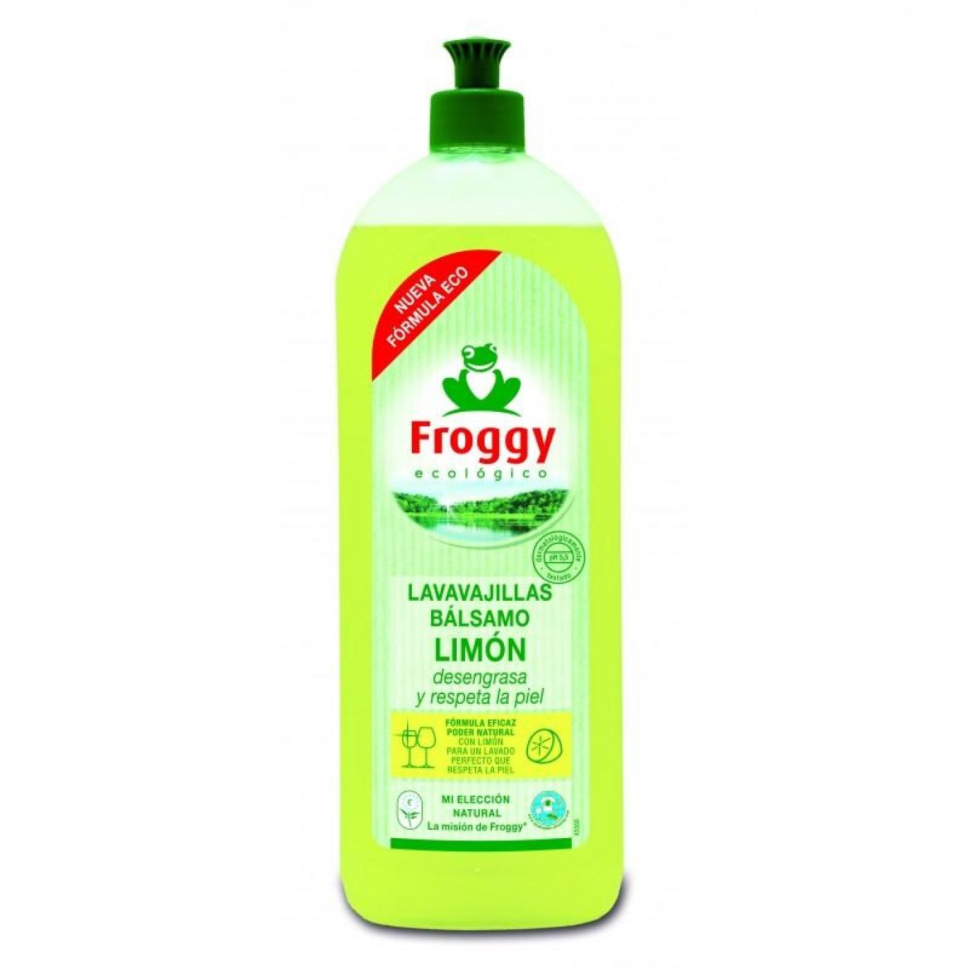 Lavavajillas limón Eco Frosch 750 ml