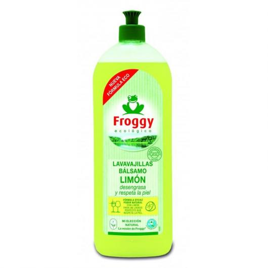 Lavavajillas limón Eco Froggy, 750 ml
