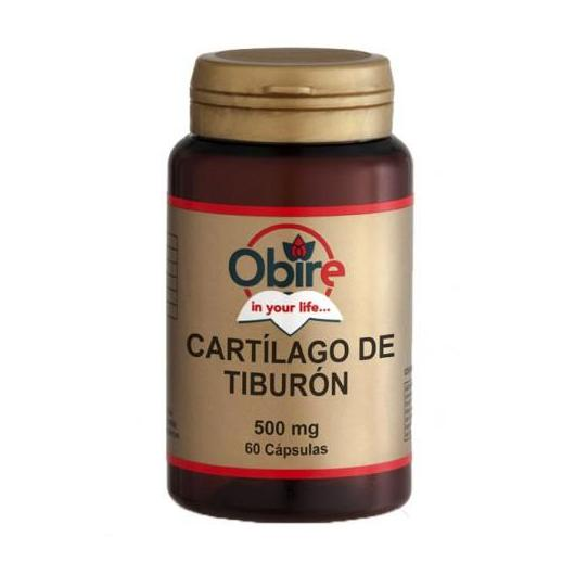 Cartilagine di squalo 500 mg Obire, 60 capsule