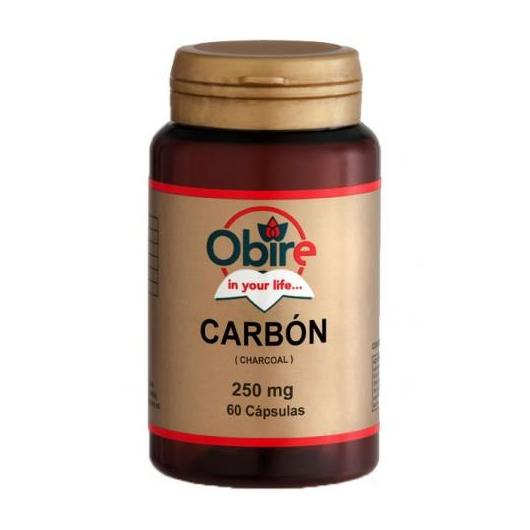 Carbne Vegetale 250 mg Obire,  60 capsule