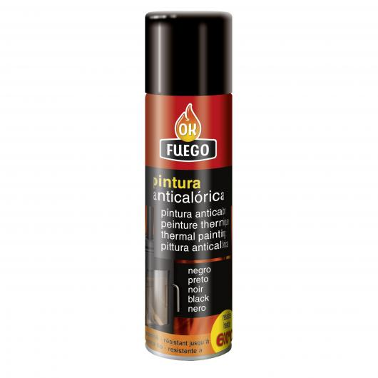 Pintura anticalórica color negro 520 mL