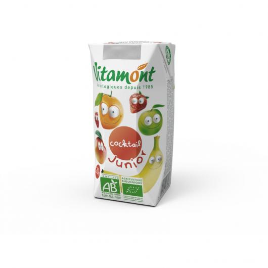 ZUMO COCKTAIL JUNIOR VITAMONT 6 x 20 CL