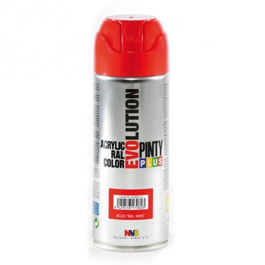Pintura en Spray Evolution Rojo brillante, 400 ml