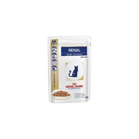 Royal Canin RENAL CHICKEN CAT 12X85gr