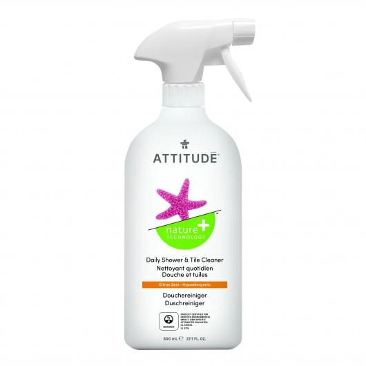 Limpiador para Ducha eco en Spray Attitude, 800 ml