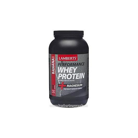 Whey Protein sabor plátano Lamberts, 1 kg