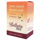 Beltrán Vital fragrance free pure coconut soap 240g