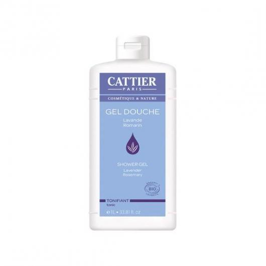 Gel de ducha tonificante Cattier, 1 L