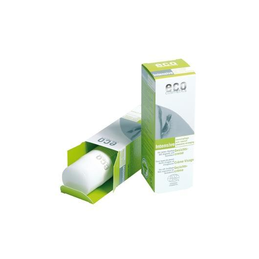Crema facial intensiva Argán EcoCosmetics, 50ml.
