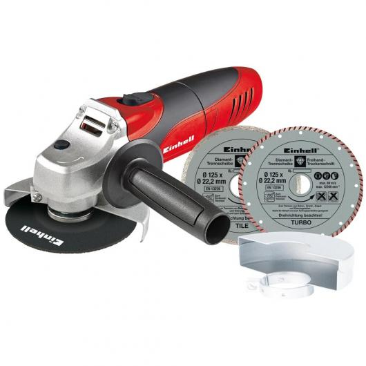 Kit amoladora TC-AG 125 mm 850 W Kit Einhell