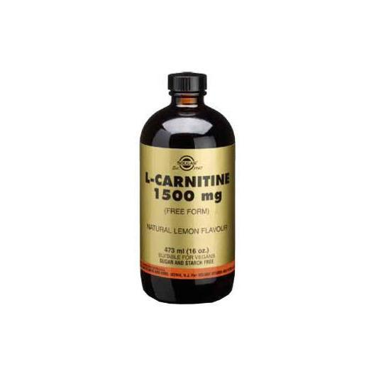 L-Carnitina Líquida 1500 mg Solgar, 473 ml