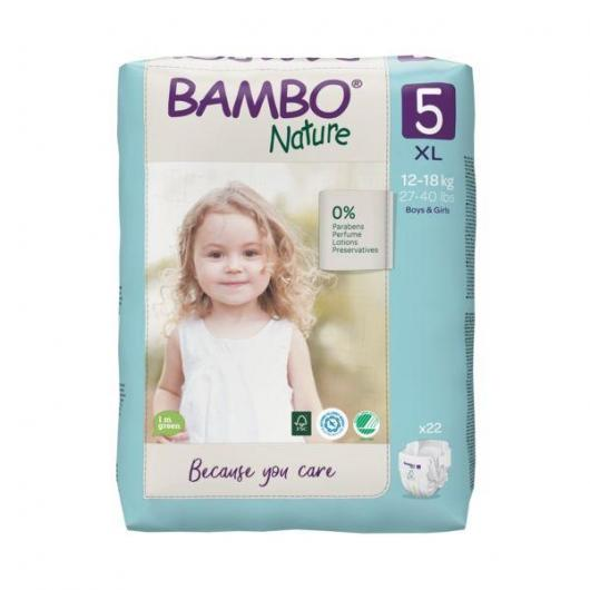Couches Bambo junior 12-22 kg, 27 pièces