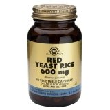 Solgar Red Yeast Rice, 60 cápsulas vegetais