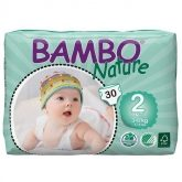 Couches Bambo mini 3-6 kg, 30 pièces