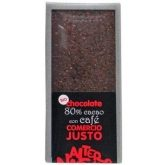 Chocolate 80% con Café BIO-FT. 100gr