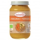 Petit pot Menu tradition au veau Babybio, 200 g
